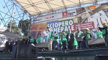 1 - La protesta dei sindacati edili a Roma
