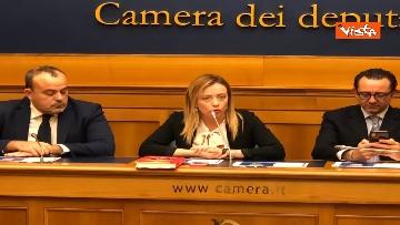 7 - Consigliere regione Lazio Aurigemma passa a FdI, immagini conferenza
