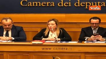 8 - Consigliere regione Lazio Aurigemma passa a FdI, immagini conferenza