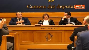 5 - Consigliere regione Lazio Aurigemma passa a FdI, immagini conferenza
