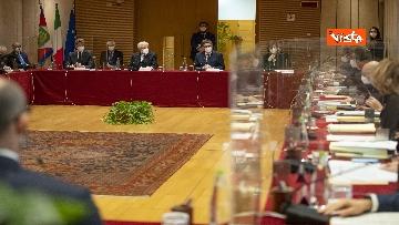 6 - Mattarella all'Assemblea plenaria del Csm, le immagini