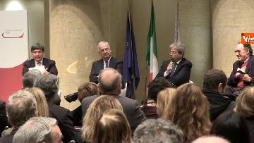 5 - Gentiloni e Veltroni a presentazione libro Causi su Roma