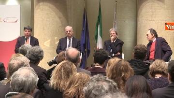 11 - Gentiloni e Veltroni a presentazione libro Causi su Roma