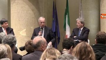 12 - Gentiloni e Veltroni a presentazione libro Causi su Roma