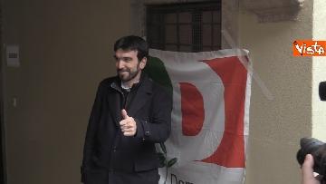 3 - Primarie Pd, il voto di Maurizio Martina a Bergamo