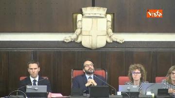 3 - Palazzo Marino, immagini seduta Consiglio Comunale Milano
