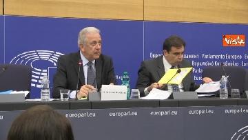 3 - Il Commissario Ue Avramopoulos al Parlamento di Strasburgo