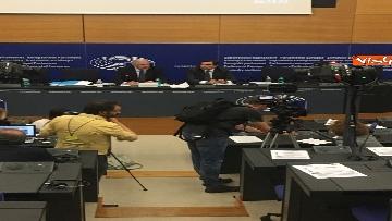 16 - Il Commissario Ue Avramopoulos al Parlamento di Strasburgo