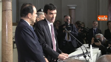 10 - Consultazioni, il Pd al Quirinale guidato da Martina, Orfini, Delrio e Marcucci