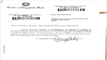 2 - Caso Fiber, ecco i documenti trasmessi da Conte