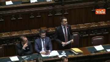 1 - Luigi Di Maio riferisce in aula sul tema sicurezza sul lavoro