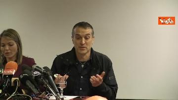 3 - Omicidio Sacchi, la conferenza stampa del padre