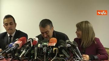 7 - Omicidio Sacchi, la conferenza stampa del padre