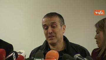 9 - Omicidio Sacchi, la conferenza stampa del padre