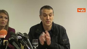 4 - Omicidio Sacchi, la conferenza stampa del padre