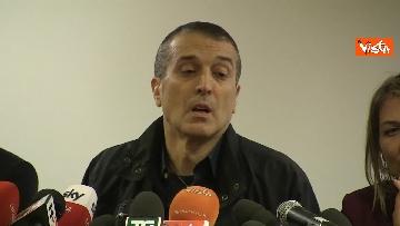 6 - Omicidio Sacchi, la conferenza stampa del padre
