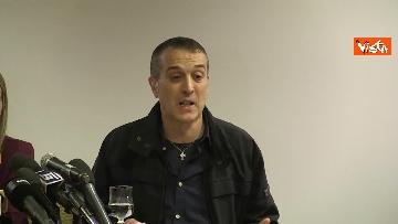 5 - Omicidio Sacchi, la conferenza stampa del padre