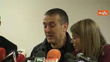 8 - Omicidio Sacchi, la conferenza stampa del padre