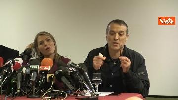 2 - Omicidio Sacchi, la conferenza stampa del padre