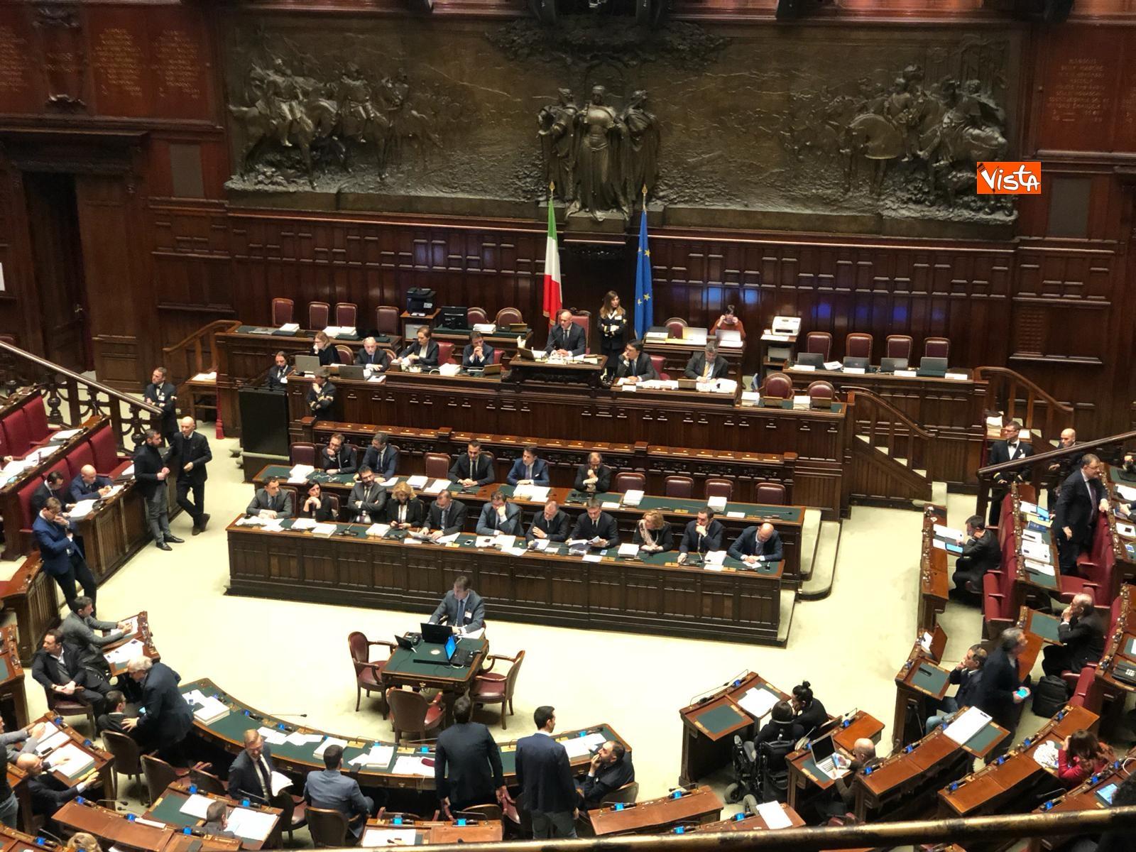 Il voto di fiducia sulla Manovra alla Camera dei Deputati