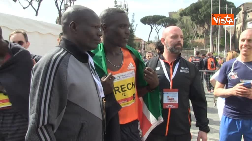 08-04-18 Maratona di Roma, ecco l'arrivo dei vincitori 08