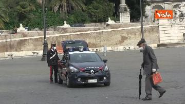 16 - Pasqua in zona rossa, vietato l'accesso alla Terrazza del Pincio a Roma