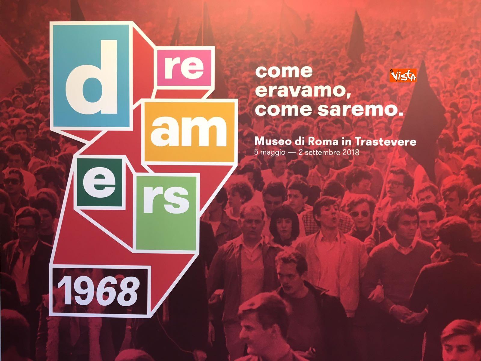04-05-18 Dreamers1968 Le immagini della mostra organizzata dall AGI_25