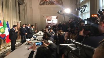 3 - Salvini al Quirinale dopo le consultazioni immagini