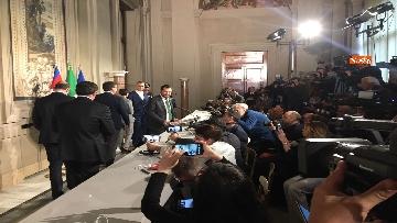 5 - Salvini al Quirinale dopo le consultazioni immagini
