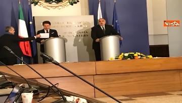 1 - Conte in visita a Sofia viene accolto dal primo ministro bulgaro Borissov