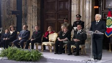 5 - Mattarella riceve il corpo diplomatico al Quirinale
