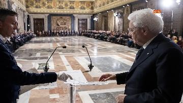 3 - Mattarella riceve il corpo diplomatico al Quirinale