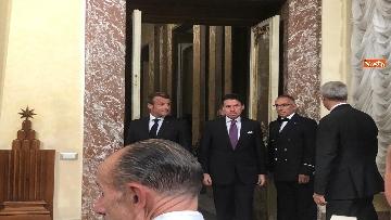 12 - Conte e Macron in conferenza stampa a Palazzo Chigi