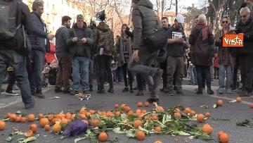 3 - Corteo dei centri sociali a Milano contro il decreto Salvini