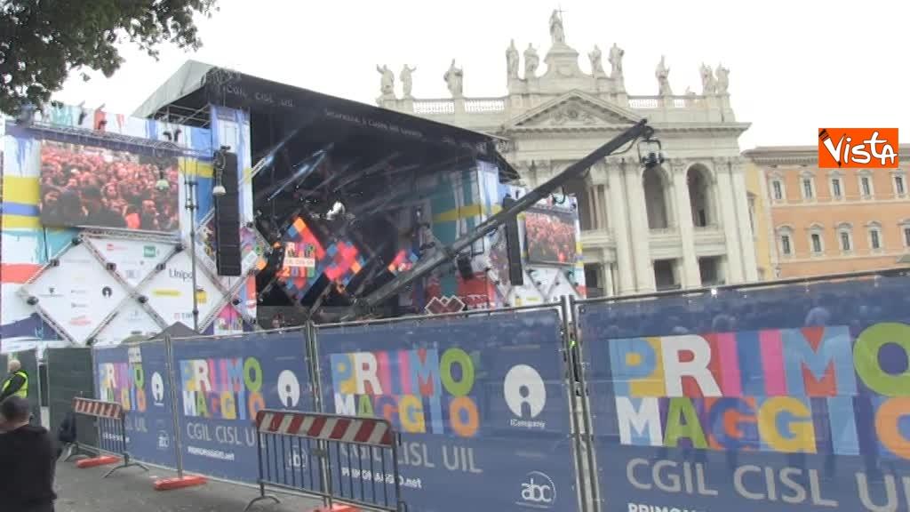 01-05-18 Piazza San Giovanni si scatena al concertone del Primo Maggio