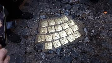 6 - Ripristinate le pietre d'inciampo nel quartiere Monti a ROma