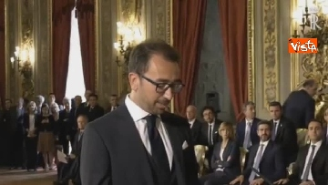 5 - Il giuramento di Bonafede, Ministro della Giustizia