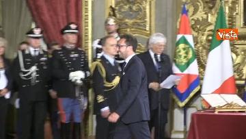 3 - Il giuramento di Bonafede, Ministro della Giustizia