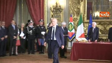 6 - Il giuramento di Bussetti, Ministro dell'Istruzione