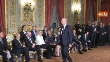 7 - Il giuramento di Bussetti, Ministro dell'Istruzione