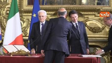 4 - Il giuramento di Bussetti, Ministro dell'Istruzione