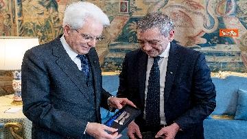 2 - Mattarella incontra i vertici del quotidiano 'La Repubblica'