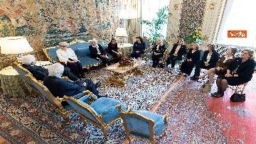 5 - Mattarella incontra i vertici del quotidiano 'La Repubblica'