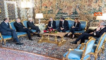 6 - Mattarella incontra i vertici del quotidiano 'La Repubblica'