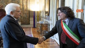 2 - Mattarella incontra delegazione ANCI Piccoli Comuni