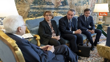 4 - Mattarella incontra delegazione ANCI Piccoli Comuni