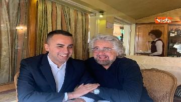 4 - Di Maio incontra Beppe Grillo all'Hotel Forum a Roma