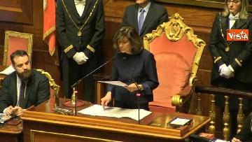 7 - Casellati eletta presidente del Senato