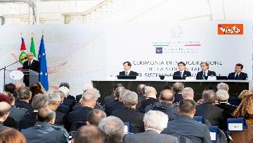 4 - Mattarella e Conte all'inaugurazione della sede unitaria dell'Intelligence