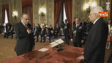 4 - Il giuramento di Bonisoli, ministro dei Beni Culturali